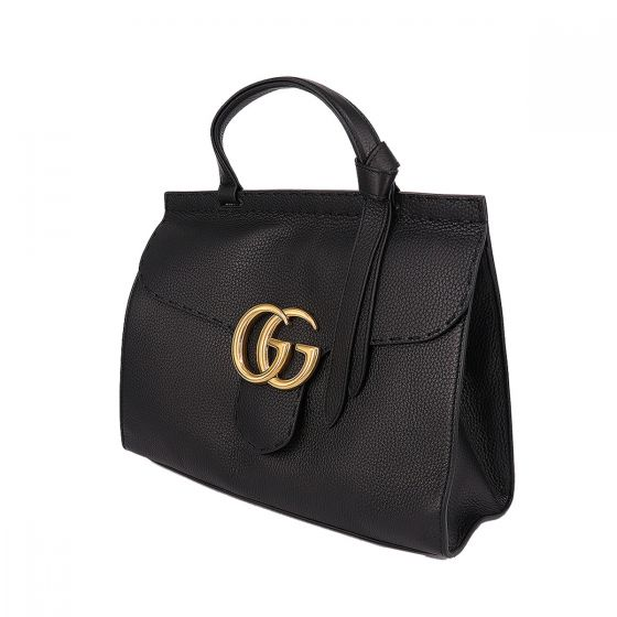 c081fb7e5adc GG Marmont leather top handle bag | Only Luxury Shopping