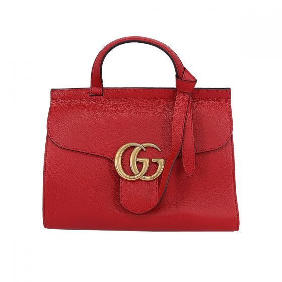 4116e8ed616fd1 GG Marmont leather top handle bag | Only Luxury Shopping