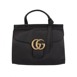 Gucci GG Marmont leather top handle bag