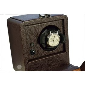 Scatola del Tempo Chocolate 1RT Over Size Watch Winder