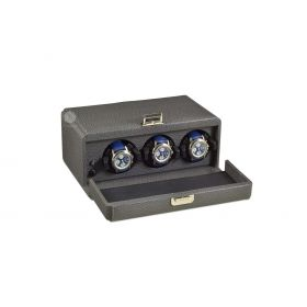 Scatola del Tempo Grey 3RT Over Size Watch Winder