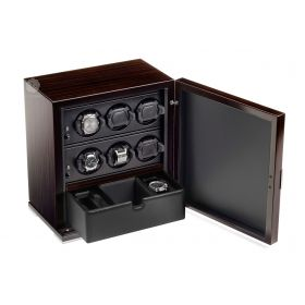 Scatola del Tempo 6RT SP EB Over Size Watch Winder