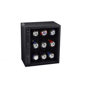 Scatola del Tempo Black Cornice 9RT XXL Compact Watch Winder
