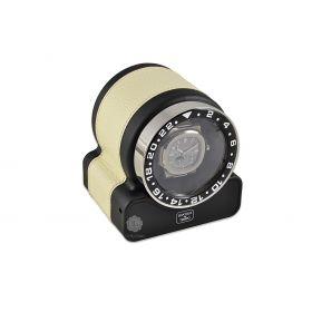 Scatola del Tempo Cream Rotor One Sport Watch Winder