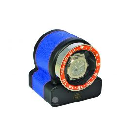 Scatola del Tempo Royal Blue Rotor One Sport Watch Winder