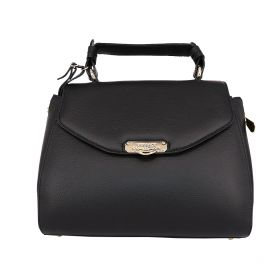 Versace Collection Satchel Leather Black