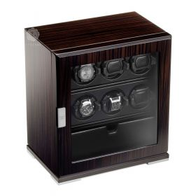 Scatola del Tempo 6RT SP EB Over Size 1V Watch Winder