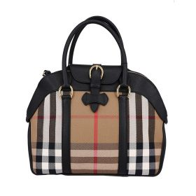Burberry House Check Bowling Tote