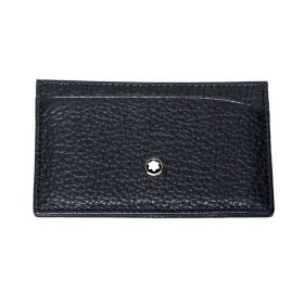 Montblanc Meisterstück Soft Grain Pocket Holder 3cc Card Holder