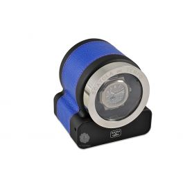 Scatola del Tempo Royal Blue Rotor One Hdg Watch Winder