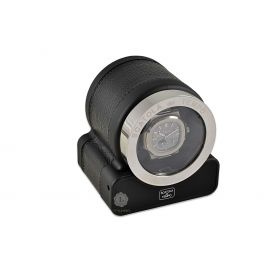 Scatola del Tempo Black Rotor One Hdg Watch Winder