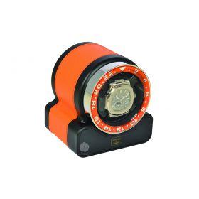 Scatola del Tempo Orange Rotor One Sport Watch Winder