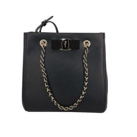Salvatore Ferragamo Small Vara Shoulder Tote Bag